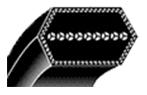 Dobule Angle V Belt